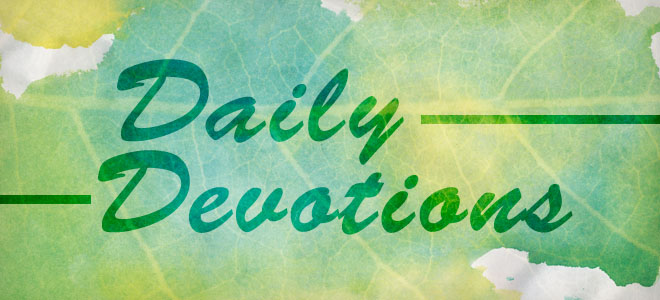 Daily Devotions slider
