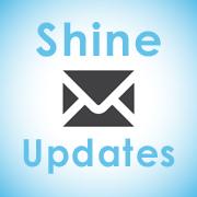 Shine updates button