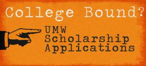 umw scholarship slider