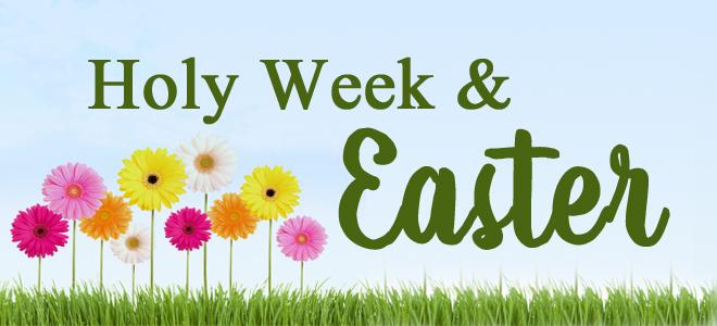 holy week slider
